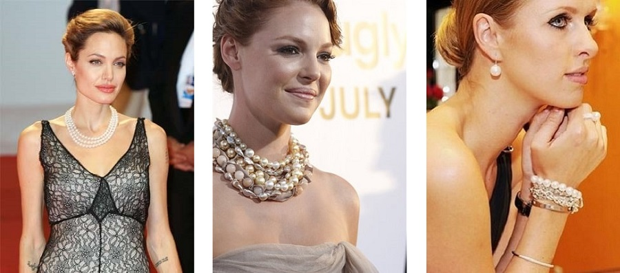 Pearls on the red carpet