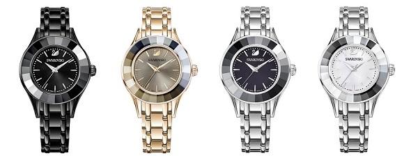 Swarovski Alegria Watch in four colours