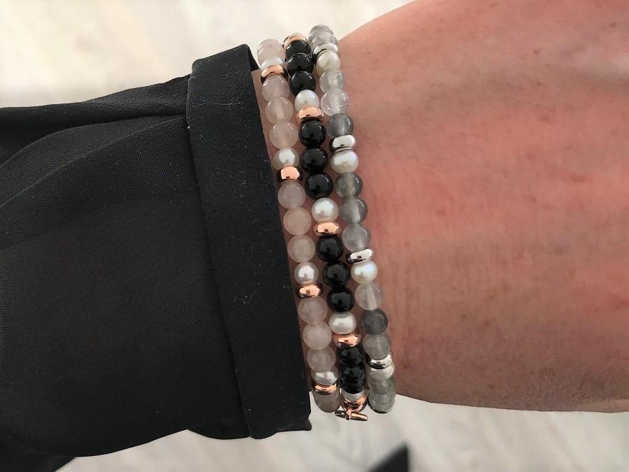 Jersey Pearl Sky Bracelets