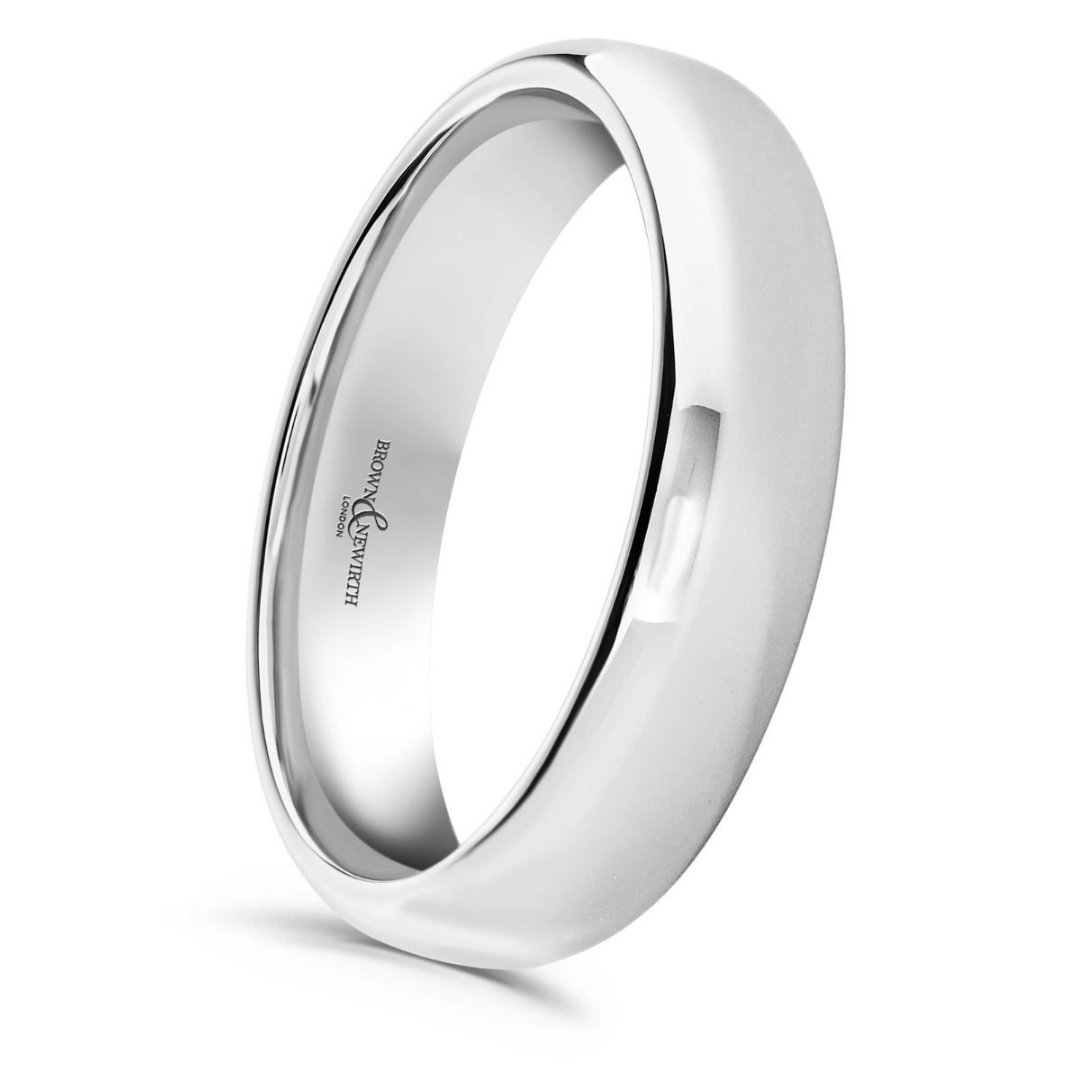 Brown & Newirth Perpetual Wedding ring in white gold