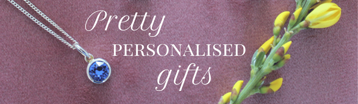 Pretty, personalised gifts