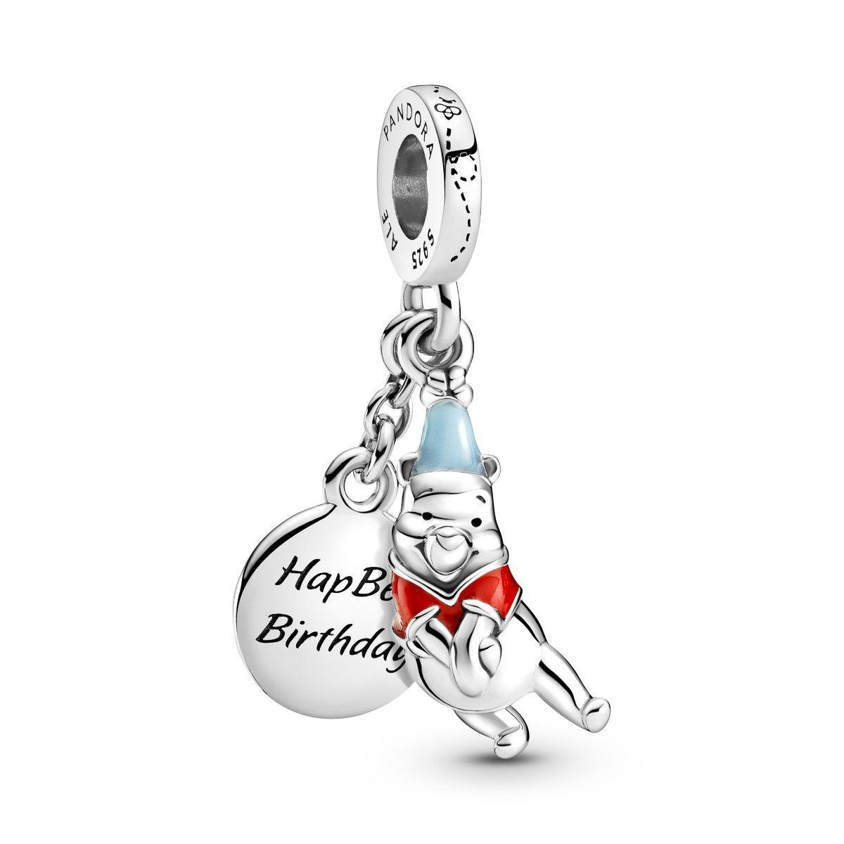 Pandora Disney Winnie The Pooh Birthday Dangle Charm