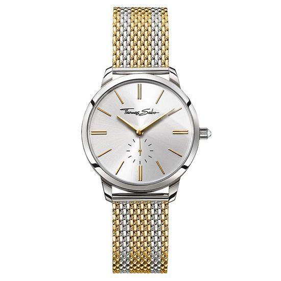 Thomas Sabo Women's Glam Spirit Watch, Bico Silver and Gold WA0272-282-201