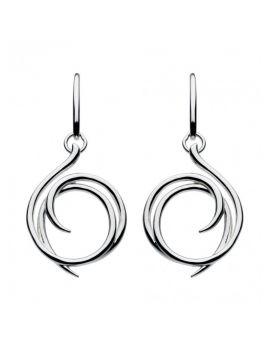 Kit Heath Helix Wrap Drop Earrings