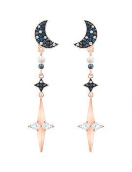 Swarovski Symbolic Pierced Earring Jackets, Multi-Coloured, Mixed Metal Plating