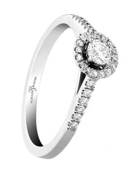 Brown & Newirth 'First Kiss' Engagement Ring