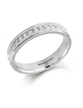 Brown & Newirth Half Eternity Ring