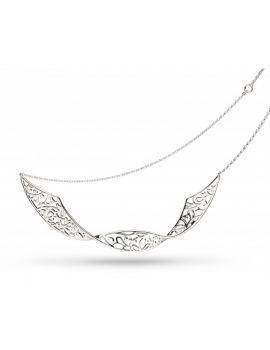 "Kit Heath Blossom Flourish Double Twist 18"" Necklace"