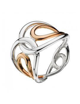 Kit Heath Infinity Rose Gold Ring