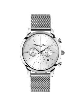 "Thomas Sabo Men's Watch ""REBEL SPIRIT CHRONO"" Mesh Silver"