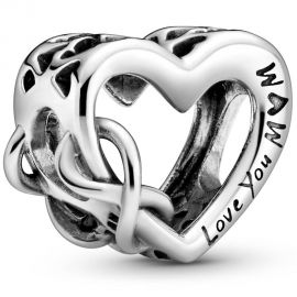 Pandora Love You Mum Infinity Heart Charm 798825C00