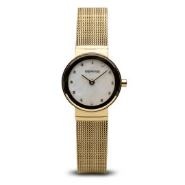 Bering Ladies Classic Watch - Polished Gold - 10122-334