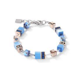 Coeur De Lion GeoCUBE Bracelet - Sky Blue