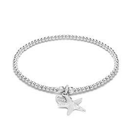 Annie Haak Santeenie Silver Charm Bracelet - Starfish