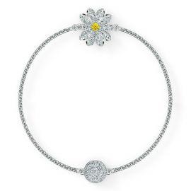 Swarovski Remix Collection - Flower Strand - White - Rhodium Plating - 5520651 , 5535299
