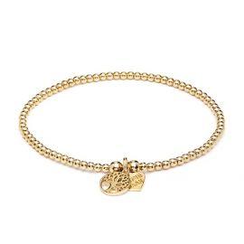 Annie Haak Santeenie Gold Charm Bracelet - Tree of Life