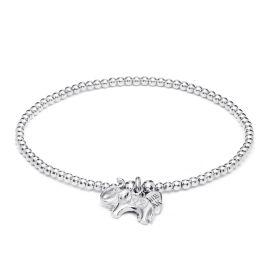 Annie Haak Santeenie Silver Charm Bracelet - Elephant