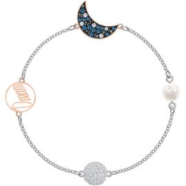 Swarovski Remix Collection Moon, Multi-coloured, Mixed Plating