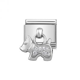 Nomination Classic Charm Stainless Steel and 925 Silver Dog 331800_09