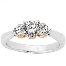 Clogau Compose Engagement Ring - Past Present Future