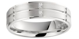 Brown & Newirth 'Sculptor' Mens Wedding Band, For Him