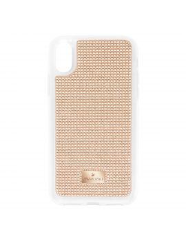 low priced 9768f 2cfbd Swarovski Hero Smartphone Case, iPhone® X, Rose Gold
