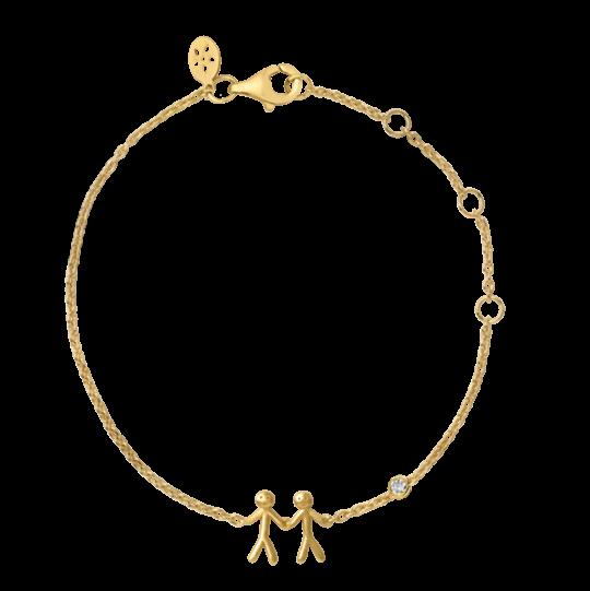 byBiehl Together My Love Gold Bracelet  2-2002A-GP