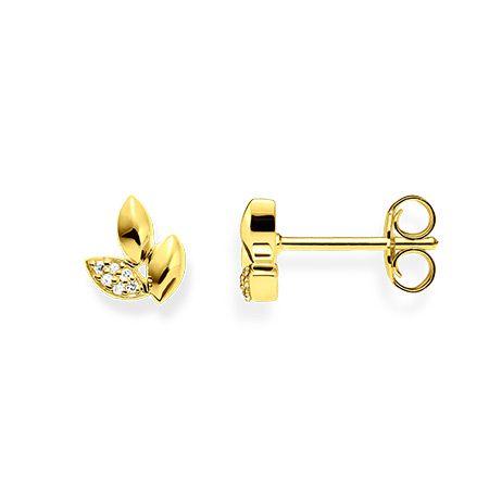 Thomas Sabo Ear Studs - Diamond and Gold  D_H0006-924-39