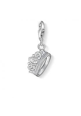Thomas Sabo Charm Pendant, Silver Crown