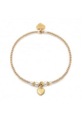 Annie Haak Ceremony Gold and Pearl Bracelet