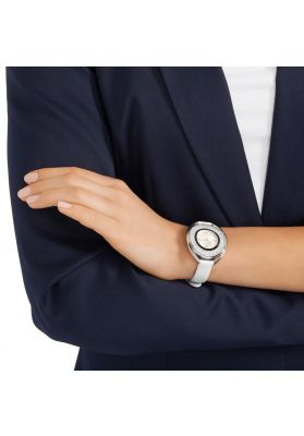 Swarovski_Crystalline_Oval_White_&_Silver_Leather_Watch