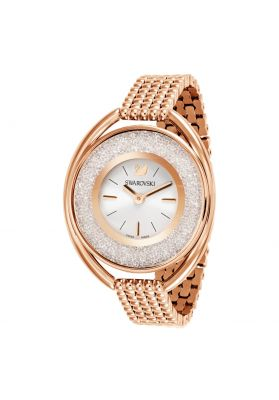 Swarovski_Crystalline_Oval_Rose_Gold_Metal_Watch
