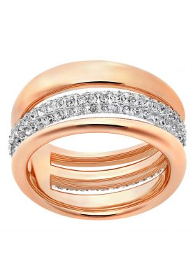 f39dbaea5 Swarovski_Exact_Ring_Rose. Add To Bag. Wishlist Compare. Swarovski Exact  Ring, White, Rose Gold Plating