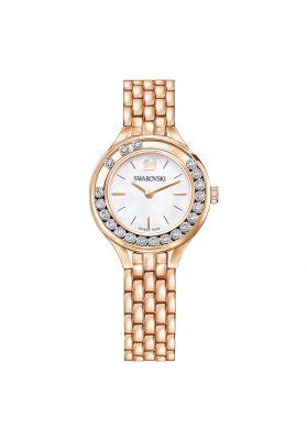 Swarovski Lovely Crystals Mini Watch, Metal Bracelet, Rose Gold Tone