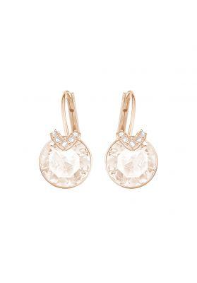 Swarovski_Bella_V_Pierced_Earrings_Small_Rose