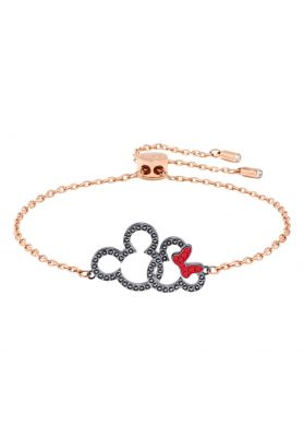 Swarovski Mickey & Minnie Bracelet, Multi-coloured, Mixed Plating