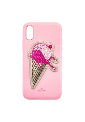 Swarovski No Regrets Smartphone Case, iPhone® X, Pink