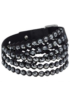 Swarovski Power Collection Slake Bracelet, Black