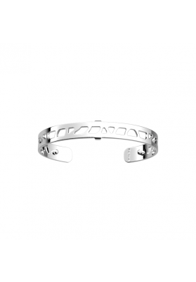 Les Georgettes Silver Plate 8mm Ibiza Cuff Bangle 70316891600000