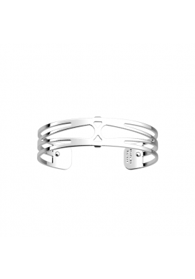 Les Georgettes Garden 14mm Silver Finish Bangle