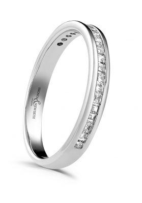 Brown & Newirth 'Devine' Half Eternity Ring