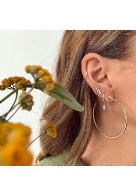 Ania Haie Glow Solid Drop Earrings, Silver E018-01H