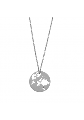 byBiehl Beautiful World Silver Necklace