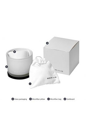 Bering Ladies White Ceramic and Rose Gold Tone Watch