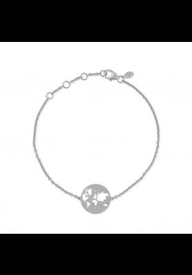byBiehl Beautiful World Silver Bracelet
