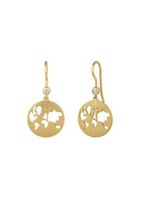 byBiehl Beautiful World Gold Earrings
