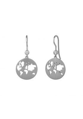 byBiehl Beautiful World Silver Earrings