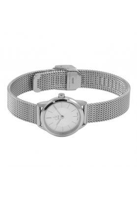 Calvin Klein Ladies Minimal Watch, Silver Tone