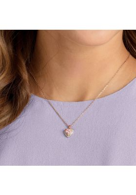 Swarovski One Pendant, Multi-Coloured, Rose Gold Plating