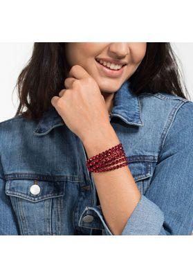 Swarovski Power Collection Slake Bracelet, Scarlet